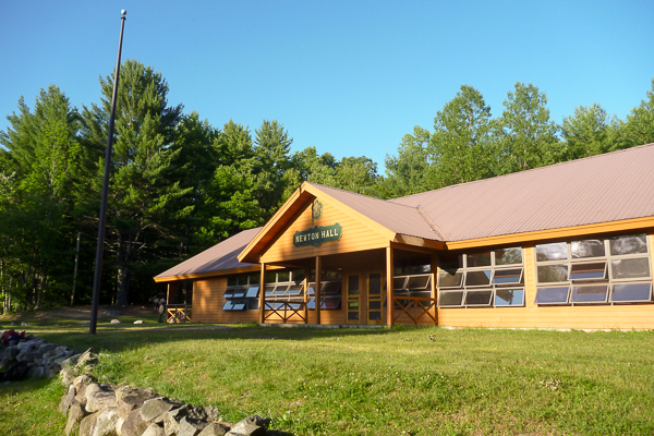 Dining Hall at Camp Read.  Photo by Paul S.